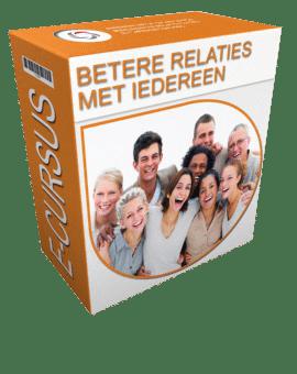 betere relaties met iedereen