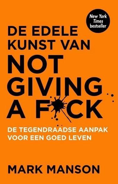 De edele kunst van not giving a fck boek bestseller